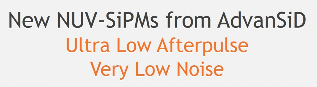 announcement low afterpulse NUV SiPMs